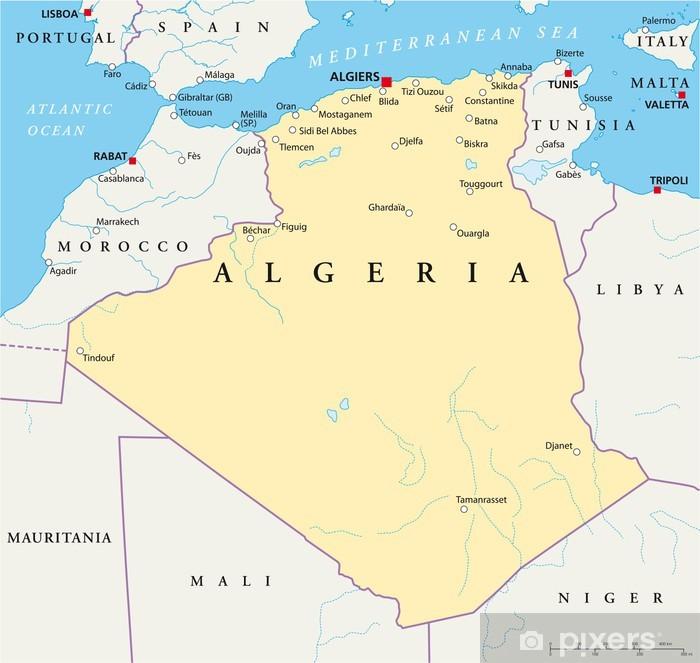 Plakat Alzirsko Mapa Pixers Zijeme Pro Zmenu