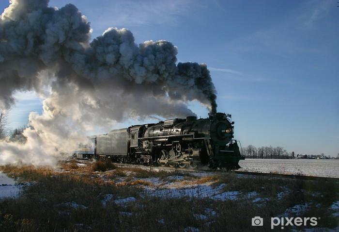 Sticker Pixerstick Locomotive vapeur - Thèmes