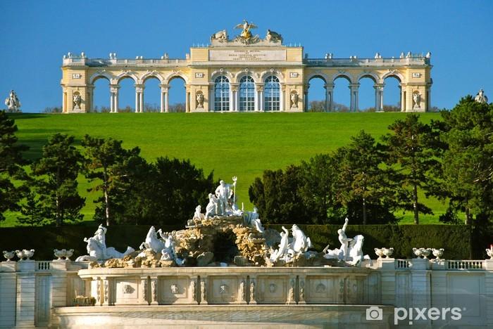 Fototapeta winylowa Glorietta w parku Schönbrunn, Wiedeń - Miasta europejskie