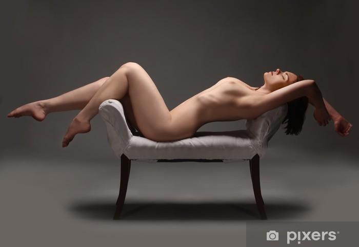 Fototapeta winylowa Artystyczne nagie kobiety w studio - Tematy