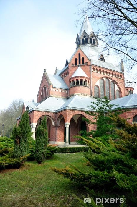 Fototapeta winylowa Kaplica Cmentarna - Cmentarz Centralny - Szczecin - Tematy