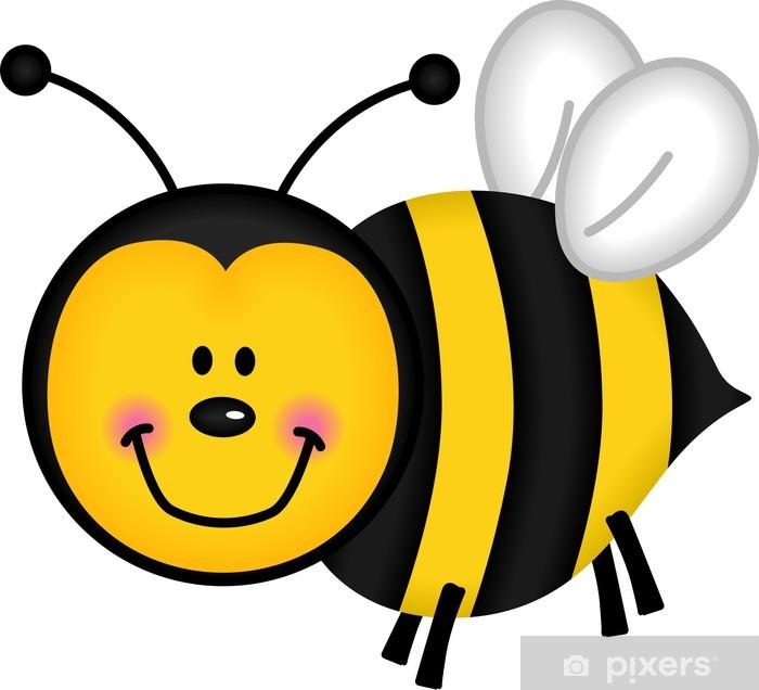Papier peint vinyle Bee Happy - Autres Autres