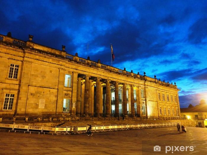 Naklejka Pixerstick Pałac Sprawiedliwości Bogota Kolumbia - Ameryka