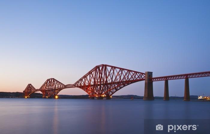 Fototapeta winylowa Forth Rail Bridge przejście pomiędzy Fife i Edynburga Scotl - Tematy