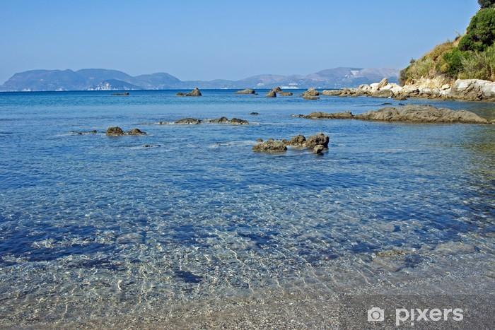 Fotomural Estándar Vista de una playa en la isla griega de Zakynthos Daphne - Europa