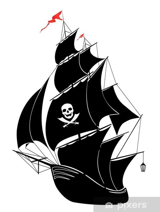 Cojín decorativo Barco pirata • Pixers® Vivimos para cambiar