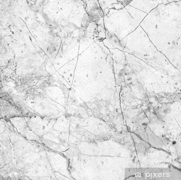 Sticker Pixerstick Texture de marbre blanc (high.res.) - Textures