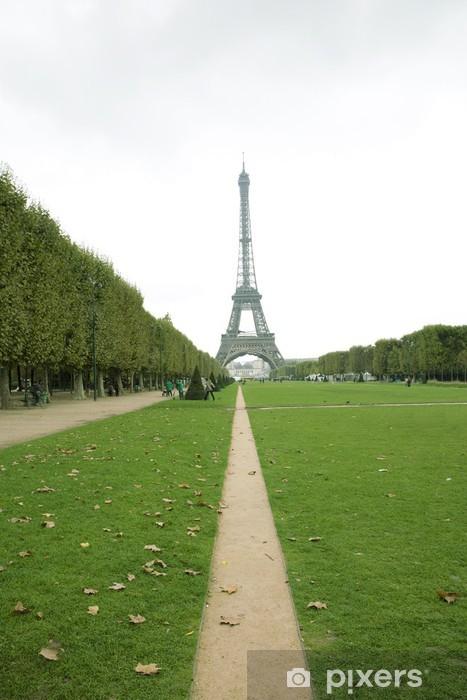 Naklejka Pixerstick Wieża Eiffla w Paryżu - Miasta europejskie