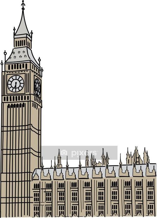 Adesivo da Parete Big Ben a Londra - Vacanze