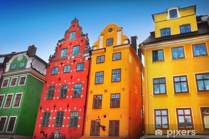 Papier peint vinyle Old village - Europe