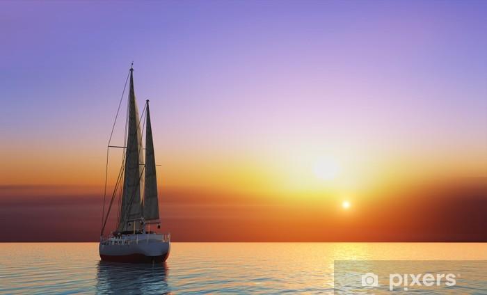 Vinyl-Fototapete Die Yacht - Ozeanien
