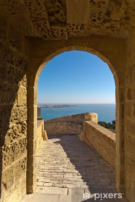 Fotomural Estándar Puerta al mar - Vacaciones