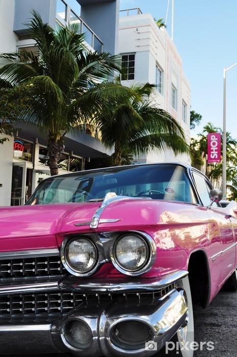 Miami art deco' Washable Wall Mural - America