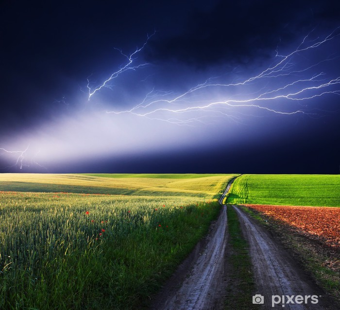 lightning Pixerstick Sticker - Themes