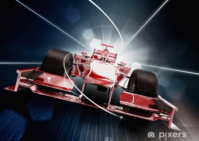 Mata łazienkowa Renderowania 3D, Formula One Concept Car -