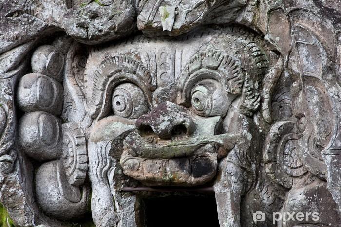 Goa Gajah Temple, Ubud, Bali, Indonesia. Vinyl Wall Mural - Asia