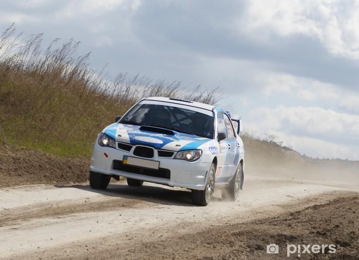Sticker Pixerstick Rallye - Sports d'extérieur