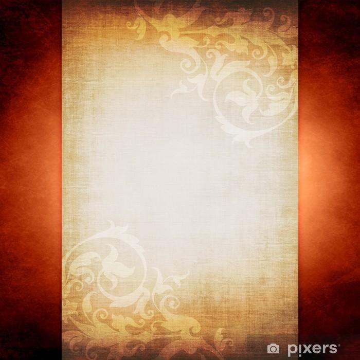 Plakat Stary pergamin pismo - Tekstury