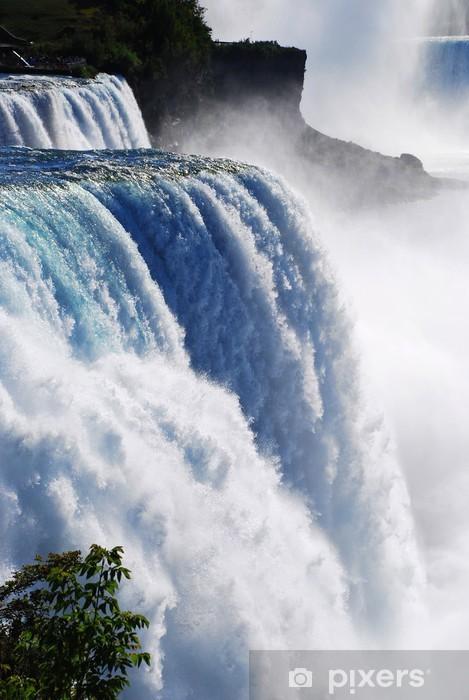 Waterfall Niagara Pixerstick Sticker - Themes