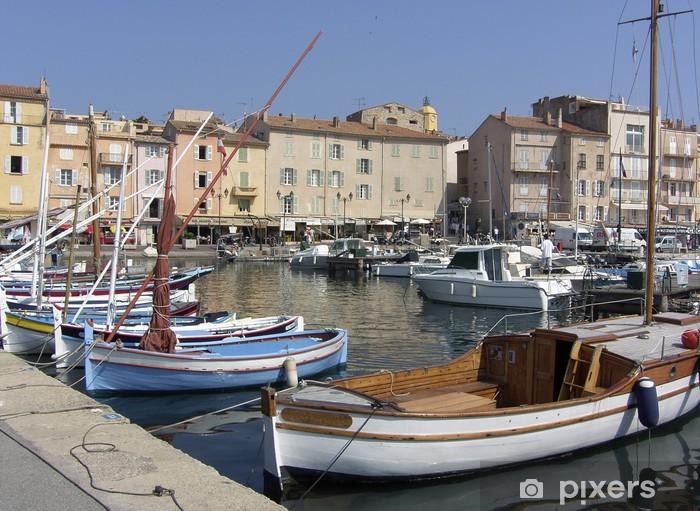 Papier peint vinyle Saint tropez port - Europe