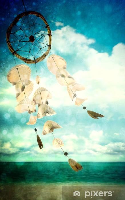 Papier peint vinyle Des coquillages dans le vent -