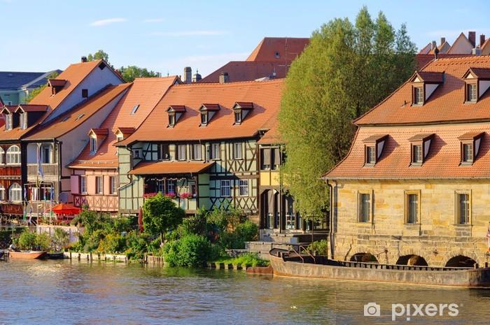 Pixerstick Aufkleber Klein Venedig Bamberg - Bamberg Little Venice 09 - Europa