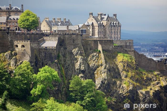Fototapeta samoprzylepna Edinburgh Castle, Szkocja, Wielka Brytania - Tematy