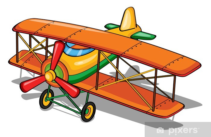 Naklejka Pixerstick Samolot - Criteo
