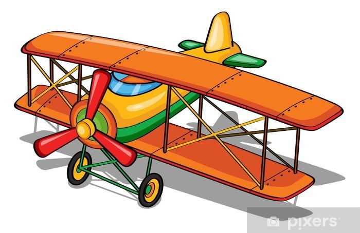 Sticker Pixerstick Avion - Criteo