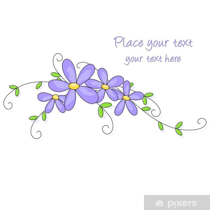 Fiori Lilla.Flowers Background Fiori Lilla Wall Mural Pixers We Live To