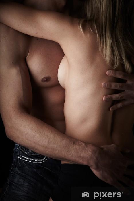 Fotomural Estándar Pareja desnuda - Temas