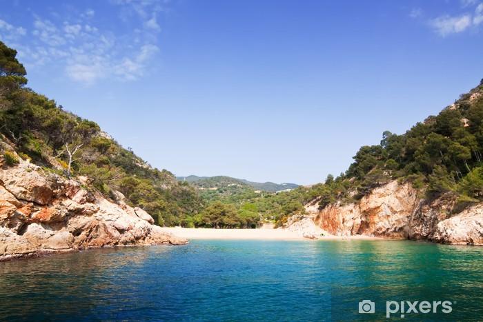 Fototapeta winylowa Costa Brava krajobrazu wybrzeża - Europa