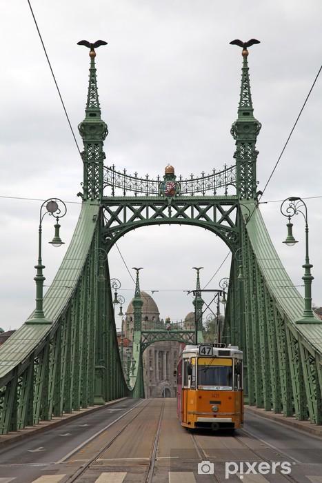 Freiheitsbrücke Pixerstick Sticker - Themes