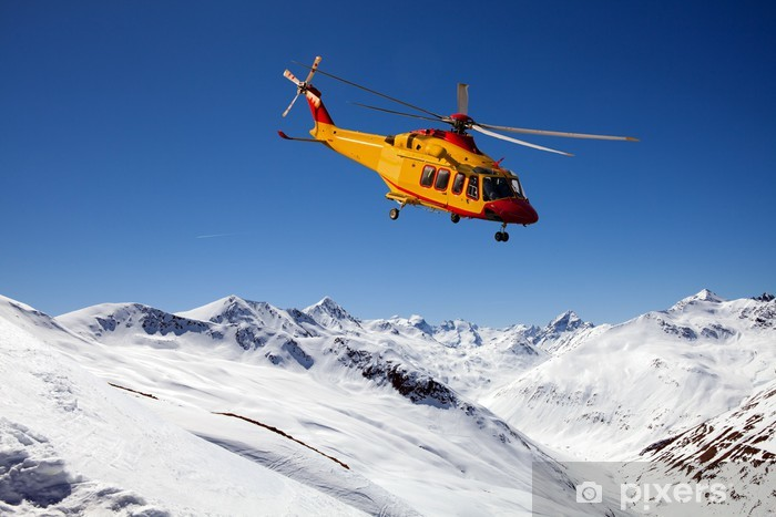 Pixerstick Aufkleber Elisoccorso alpino - Luftverkehr