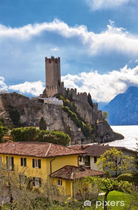 Nálepka Pixerstick Malcesine am Gardasee - Evropa