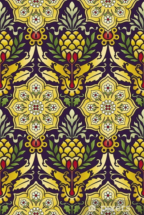 Sticker Pixerstick Classique seamless pattern - Arrière plans