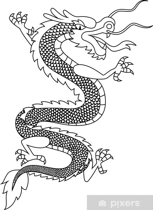 chinese dragon tattoo sticker pixers we live to change chinese dragon tattoo sticker pixers we live to change