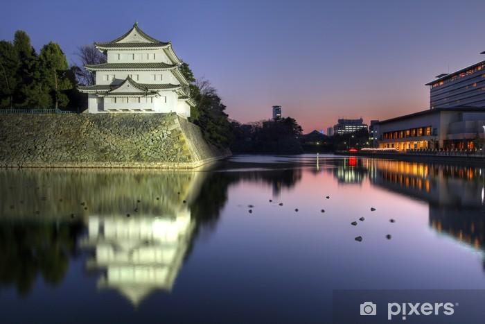 Sticker pour table et bureau inui tourelle château de nagoya japon