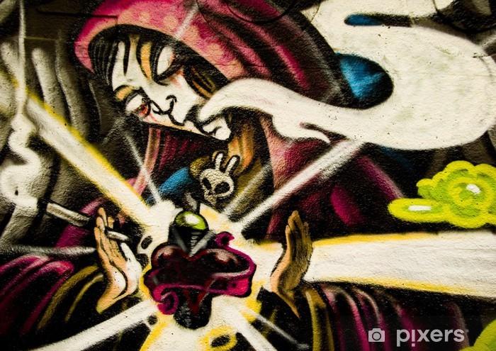 Nálepka Pixerstick Urban graffiti - Témata