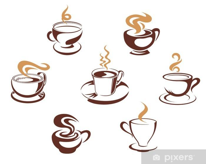 Vinilo Pixerstick Café y té tazas • Pixers® - Vivimos para cambiar