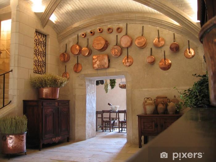 Carta da Parati Cucina medievale • Pixers® - Viviamo per il cambiamento