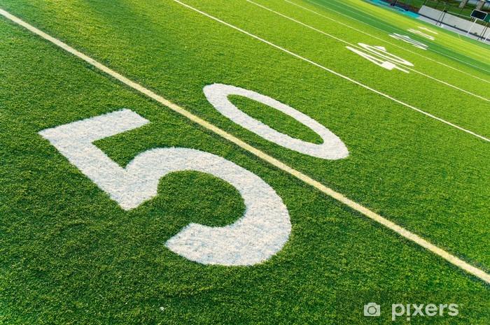 Fototapeta winylowa Futbol amerykański Pole - Football amerykański