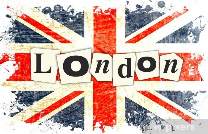 Fototapete London Englische Flagge Pixers Wir Leben Um Zu Verandern