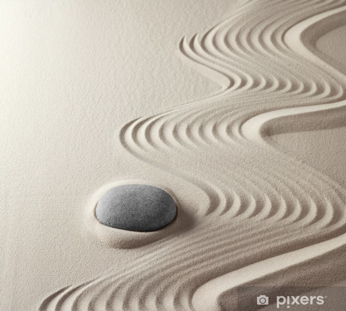 Pixerstick Dekor Japansk zen garden - Teman
