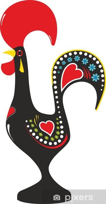 Fototapeta winylowa Barcelos Kogut (Barcelos Rooster) - Znaki i symbole