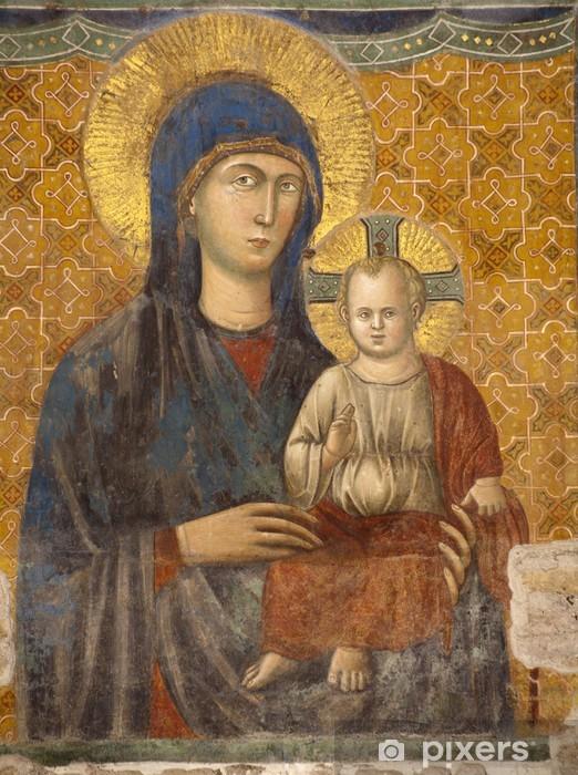 Naklejka Pixerstick Rzym - Matko Boga - Santa Maria Ara Coeli w - Tematy