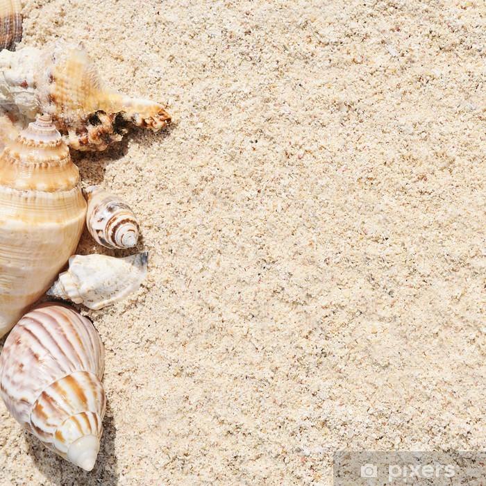 Pixerstick Aufkleber Starfish auf dem Strand - Urlaub
