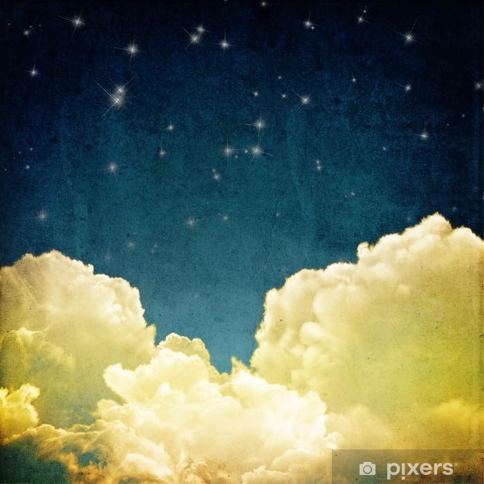 Fototapeta zmywalna Panorama z chmurami - Tematy