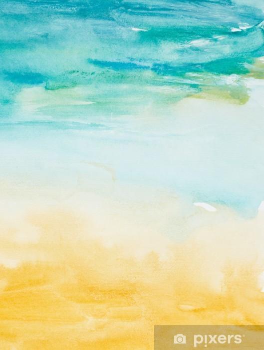 Fototapeta zmywalna Kolor gładzi akwareli sztuki - Style