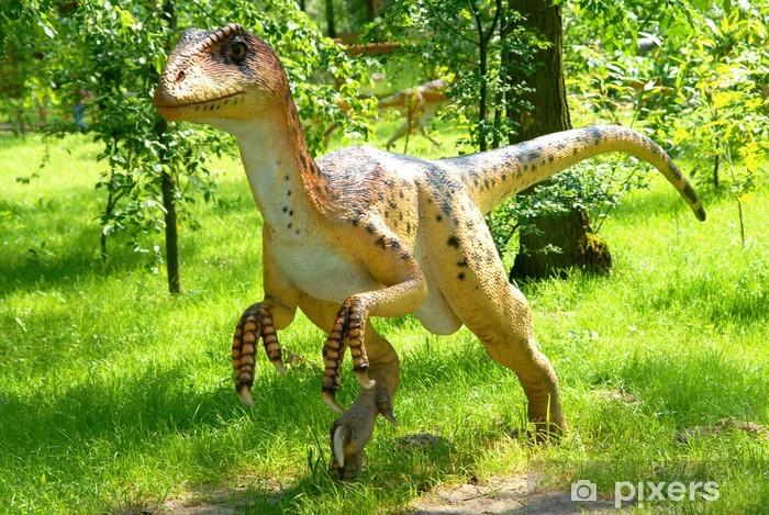 Naklejka Pixerstick Deinonychus antirrhopus, Deinonych, seria Dinozaury - Tematy